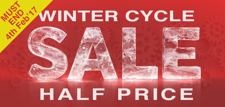 Winter Cycle Half Price Sale