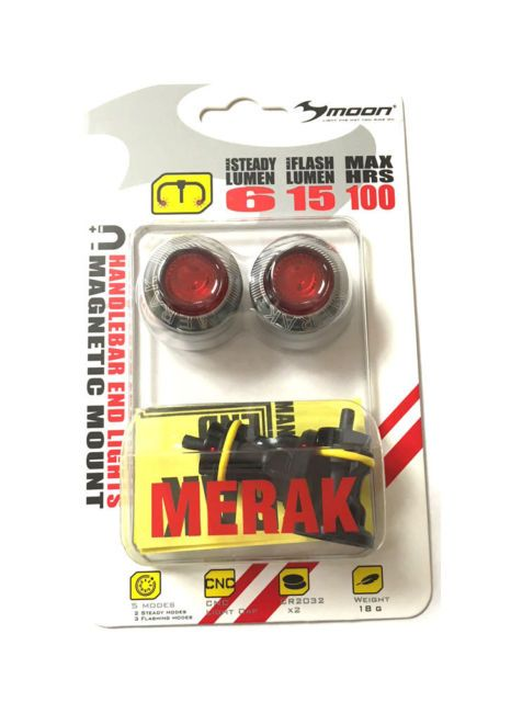 Moon Merak Handlebar Lights - Rear